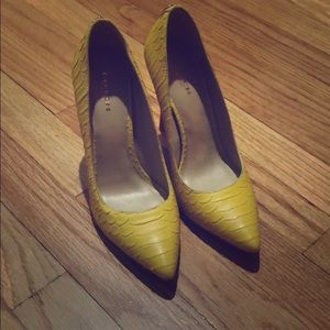 Brand new, never worn Coach heels